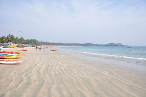 Пляж Палолем: вид на юг