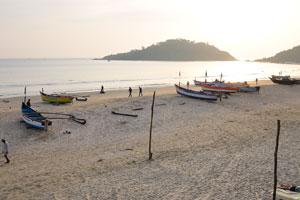 Остров Канкон перед закатом