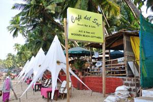Пляжный бар и кафе Кафе дель Сол
