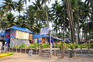 Шек 'Место с видом на море': прикреплённые и неприкреплённые пляжные хижины и комнаты