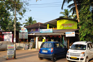 all motorbikes in Palolem are found outside the cottages territory