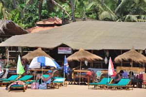 Тантра кафе, ресторан с присоединёнными хижинами