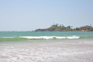 Северная часть пляжа Патнем