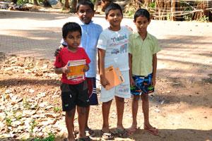 Школьники из деревни Керим