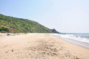 Южный вид пляжа