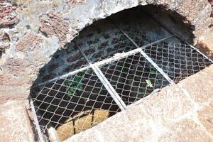 Подземный колодец
