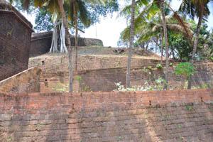 Несколько уровней форта