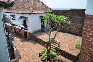 Один из уголков форта
