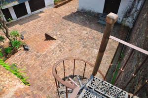 Верхушка винтовой лестницы