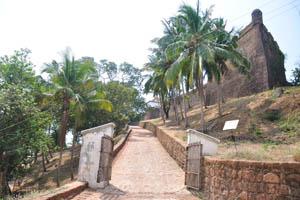 Дорога вверх к форту
