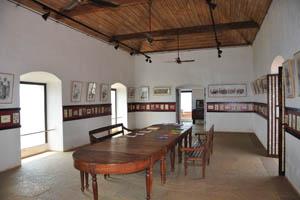 Внутри дома есть музей