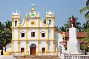 Католическая церковь рядом с городом Варка