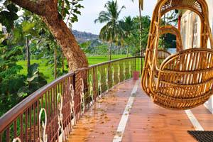 Гостевой дом Маугли, веранда для отдыха