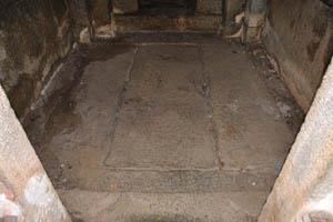 Группа памятников, нижняя часть святилища