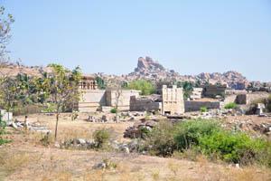 Остатки храмов