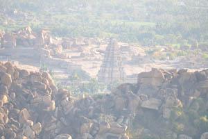 Храм Вирупакша, крупным планом
