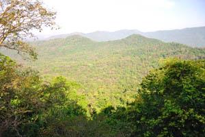 Горы недалеко от Маргао