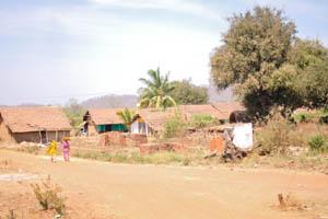 Эта деревня находится недалеко от железнодорожной станции Кастл Рок