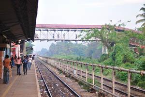 Мост железнодорожного вокзала Маргао