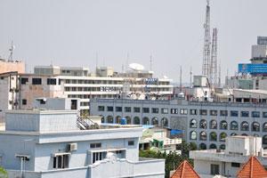 Городской пейзаж с Бирла Мандир