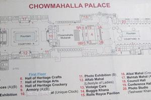 Карта дворца