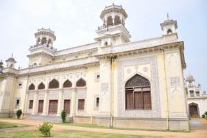 Бхаван дворца Чоумахалла, вид сзади