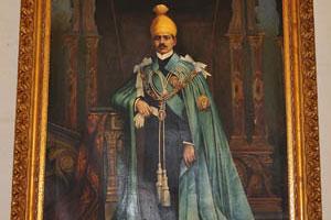 Один из королевских портретов