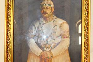 Портрет Асафа Джаха V