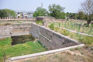 Один из бассейнов форта