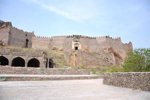 Средняя стена форта