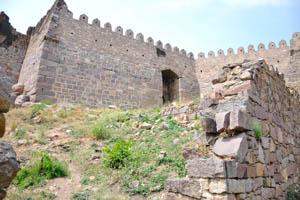 Руины форта