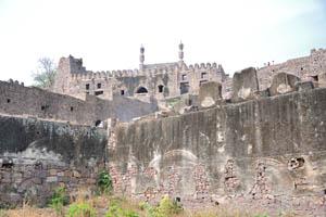 В верхней части крепости