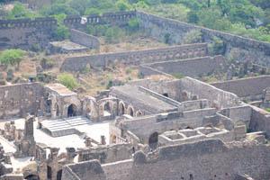 Нижняя часть форта, крупным планом