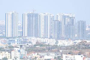 Небоскребы в Хайдерабаде