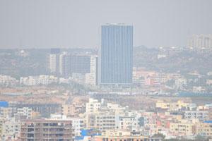 Современный Хайдерабад имеет много высоких зданий