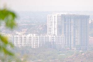 Современный жилой комплекс в Хайдерабаде