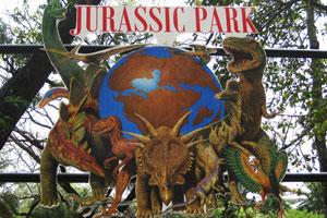 Эмблема парка Юрского периода