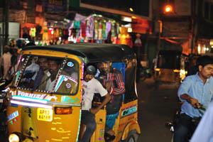 Чарминар: Авто рикши