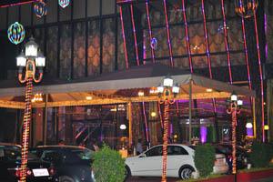 Свадебный и банкетный зал в Абидс: Вход