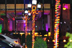 Свадебный и банкетный зал в Абидс: Электрическое освещение