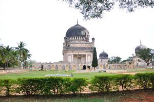 Гробница 5-го короля Мохаммеда Кули Кутб Шаха