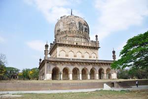 Гробница Абдуллы Кутб Шаха VII