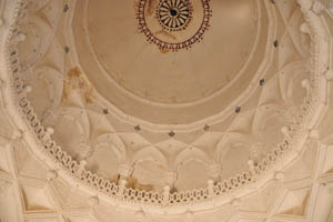 Гробница Ибрагима Кутб Шаха IV, потолок