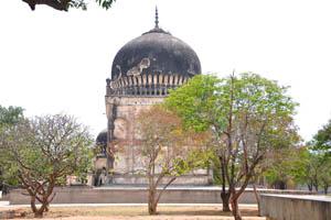 Область возле гробницы Кулсум Бегумы