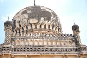 Верхняя часть гробницы Кулсум Бегумы