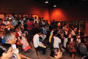 Аудитория внутри Театра сценического действия