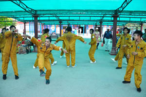 Танец с элементами спорта