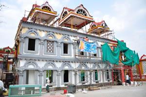 Процесс строительства нового здания