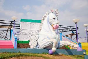 Фундустан: белый конь