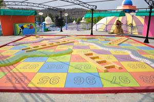 Фундустан: площадка для детей с числами
